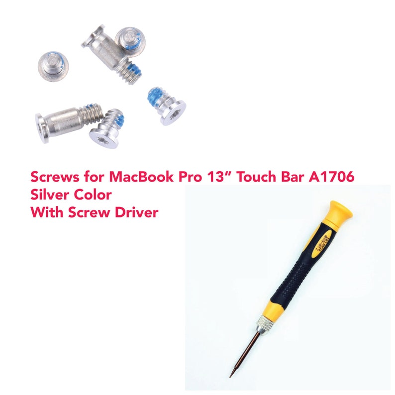 "Apple Macbook Air 13/"" 11/"" Bottom Base Back Cover Case Screws Set A1370 A1369"