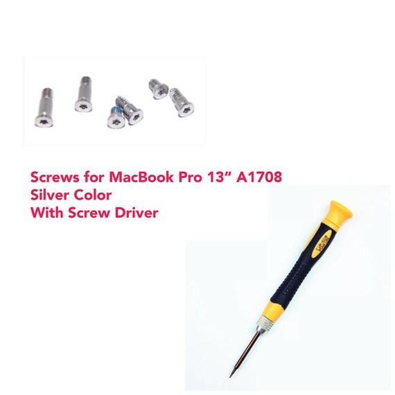 """Bottom Screws Set for Macbook Air 13/"""" A1369 A1466 Pentalobe P5 Screwdriver Bit"""