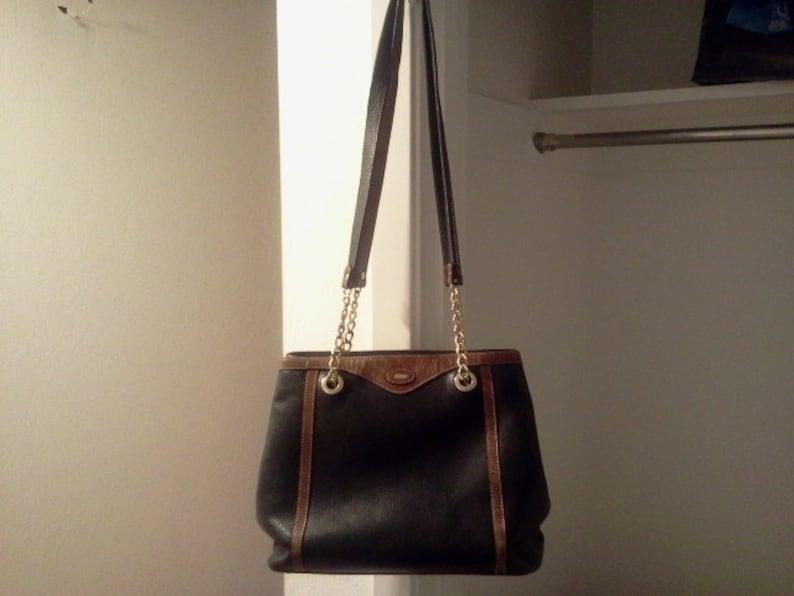 Leather shoulder bag bucket shoulder bag Bally vintage  fd45bdac1f000