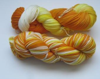 Candy Corn (fingering/sock)
