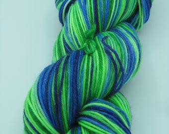 Enchanted Peacock (Fingering/Sock-Stardust)