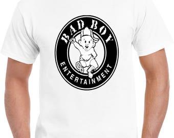Bad Boy Records Hip Hop Tshirt 80f3db52440