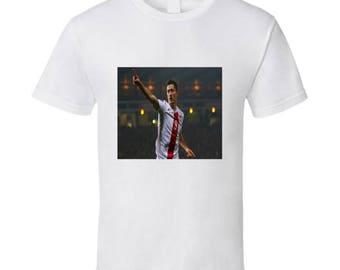 Robert Lewandowski Polish Soccer Tshirt