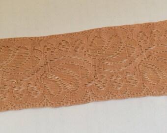 Ribbon lace spandex for 4.5 cm (under plastic) garter stockings
