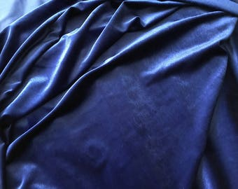Fabric very soft as the jersey velvet 140 cm width
