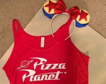 e5fe2912981c02 Pizza Planet Tank Top    Toy Story Inspired Tank Top