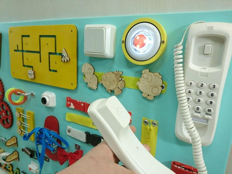 VERY BIG Busy Board Toddler gift Montessori baby girl Busy ...
