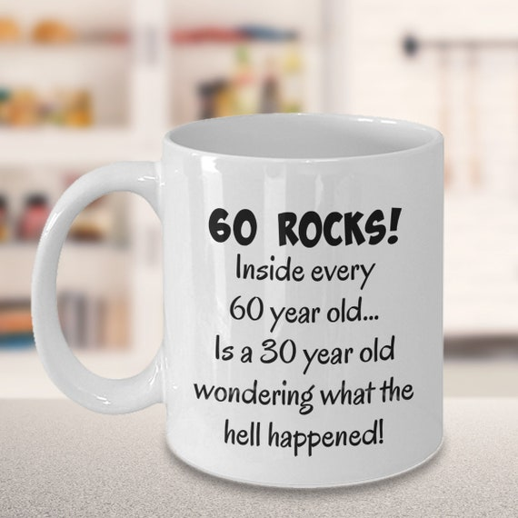 Happy 60 Year Old 1959 60th Birthday Gift Mug For Women Or