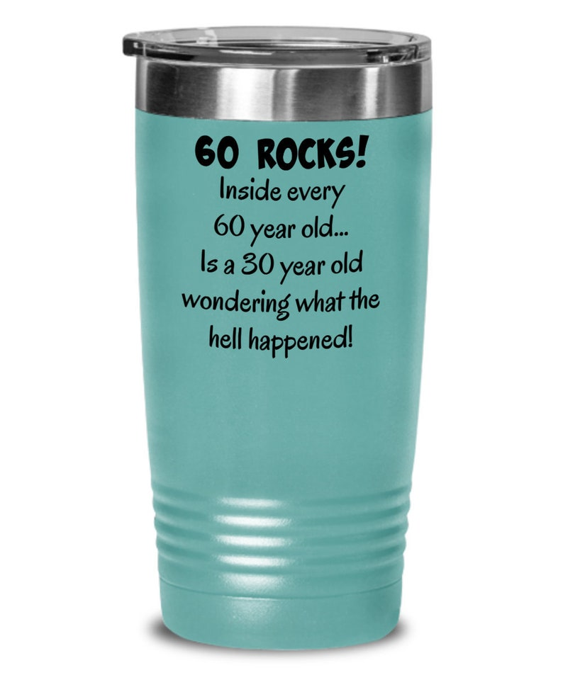 60s Tumbler Happy 60 Year Old 1959 60th Birthday Gift