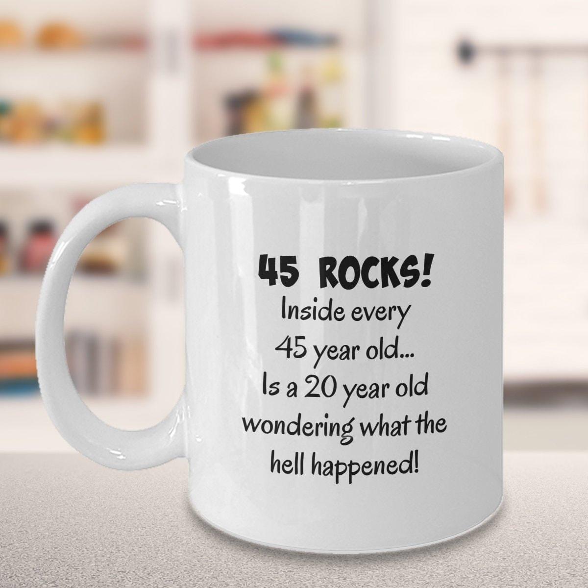 45th Birthday Mug Gift Present