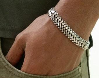 Bracelet homme vegan
