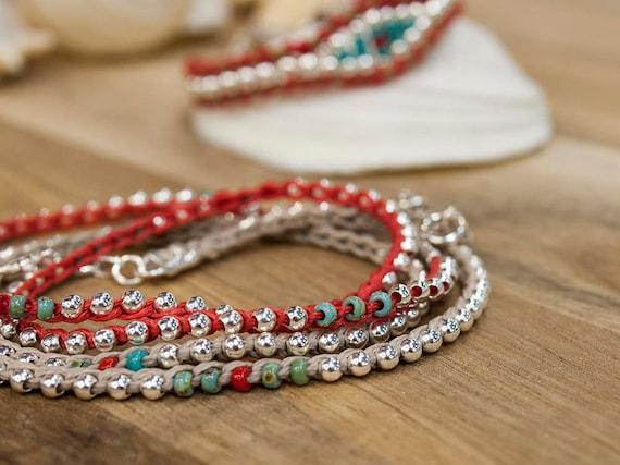 chaussures de séparation d34cd 15e18 Sterling Silver, Friendship Bracelet, Bracelet Femme, Custom Bracelet, Best  Selling Items, Bohemian Jewelry, Best Friend Bracelet