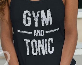 b1b83bb7a Gym and Tonic Tank Top Workout Shirt