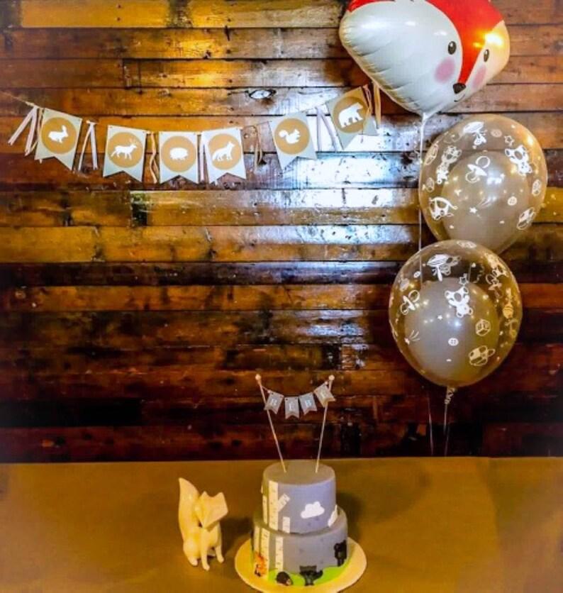 Cake Decoration Baby Shower Festive Decor Baby Flags Flag Cake Topper Pennants