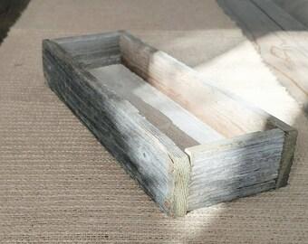 RUSTIC CENTERPIECE SET   Reclaimed Wood   Rustic Decor   Centerpiece and Vase   Table Decor   Farmhouse Decor   Mini Planter