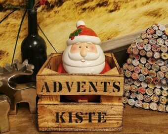 Advent Box Men Advent Calendar Advent Box Advent,Birthday,Gift Box Wood,Beer Box,Bottle Box,Men's Gift,Beer Garden