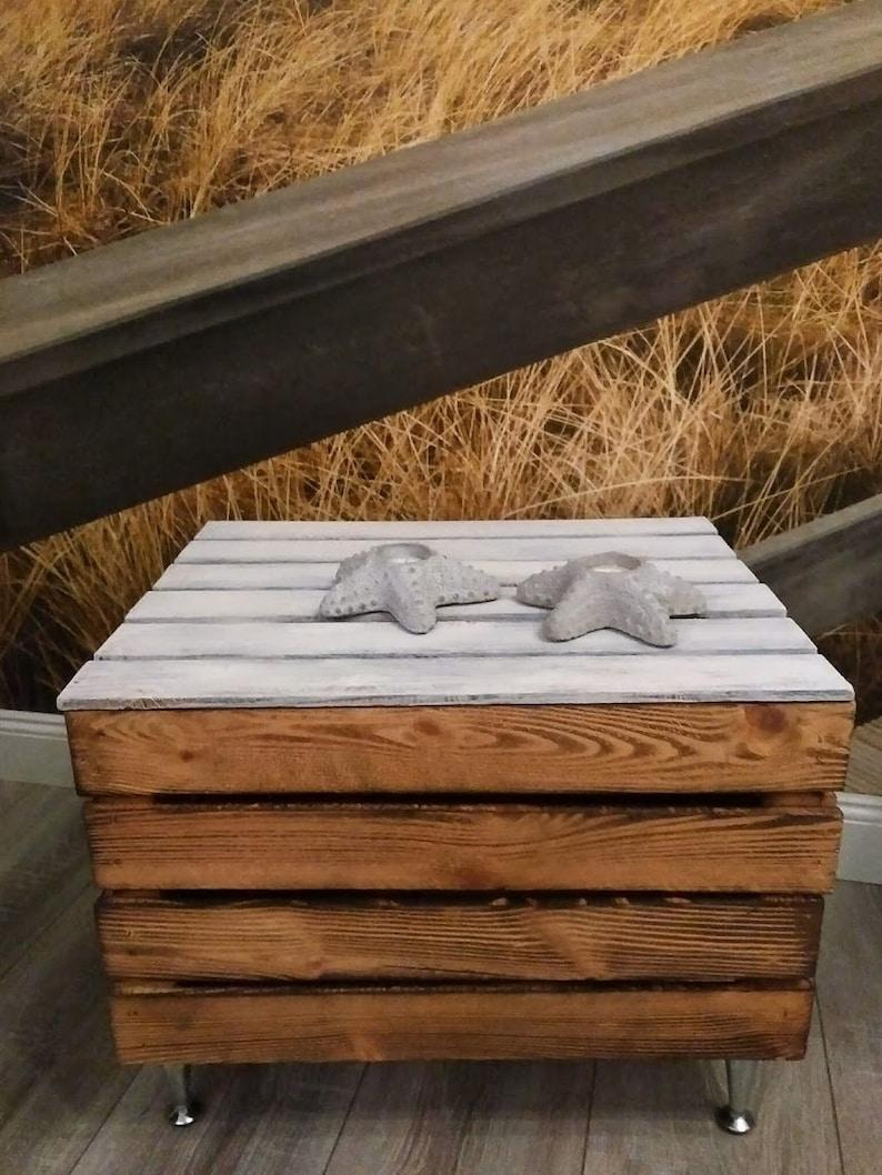 Home Furniture Diy Alte Truhe Kiste Tisch Shabby Chic