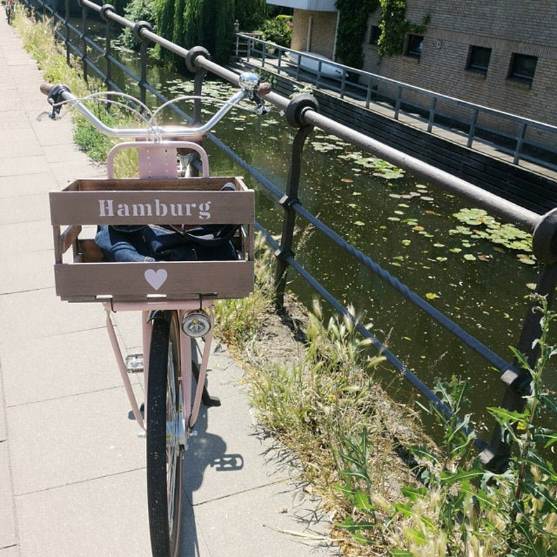Bicycle Basketbicycle Boxwooden Box Personalizedwish Boxwheelcity According To Wishbike Boxbook Boxluggage Carrier Boxgift Box
