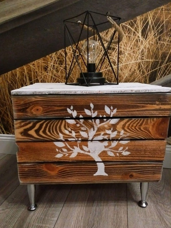 Chests Couchtisch Shabby Chic Side Table With Storage Space Stars Wooden Chest Chest Of Wood Magazine Box Table Side Table Coffee Table