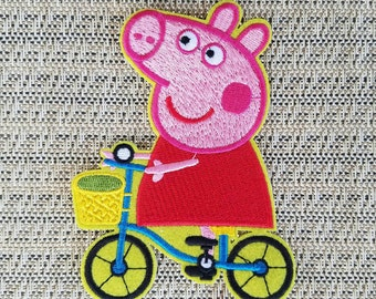 Peppa Pig Iron On Etsy