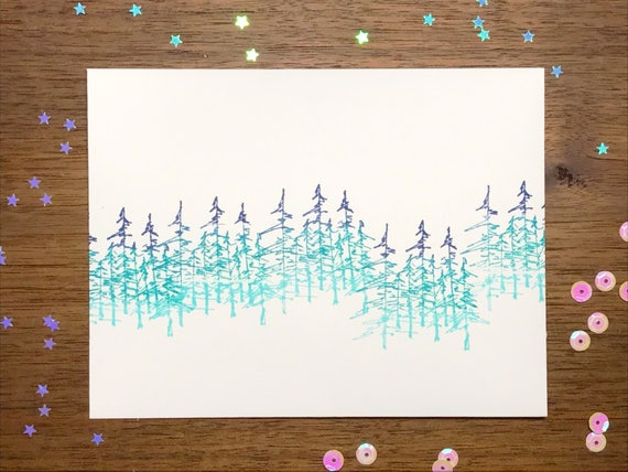 Shaker Woods Christmas In The Woods.Serenity Of The Winter Woods Shaker Card Christmas Card Winter Scene Winter Celebrations Shaker Card Forest Scene Xmas