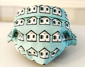 """Locally Handmade """"Days Cottages"""" Face Mask"""