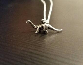 3D Brachiosaurus Necklace