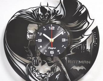 Batman Clock Etsy