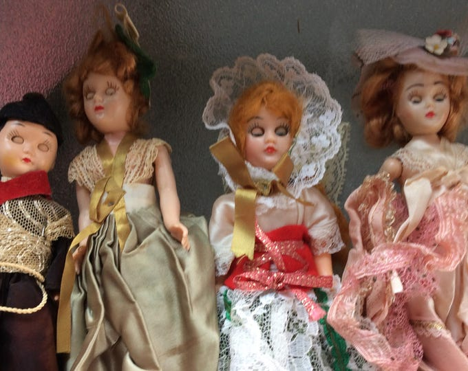 Vintage Dolls ,Mixed Lot that includes several Marcy and Carson Antique Dolls , With Reduced Shipping
