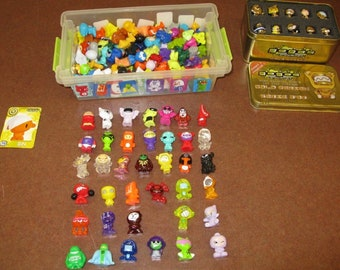 Power Gogo's Crazy Bones Collectable Toys from the 90's, Various characters from all series, Large Selection of 100, With Reduced Shipping