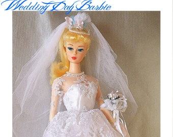 Barbie , 1996 Wedding Day Barbie  in the Original Unopened Box w REDUCED SHIPPING