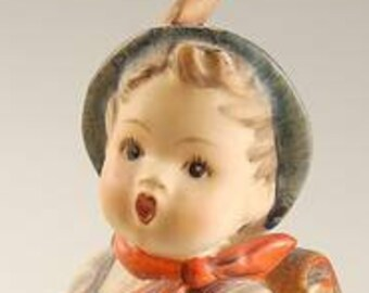 Hummel School Boy Figurine from Germany, 82/2 0 , Excellent Condition, Fathers Day Gift, Reduced Shipping