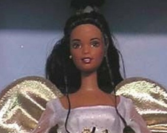 Angelic Inspiration Avon Barbie in the original unopened box, African American Beautiful Angel Barbie, One of the most collectable