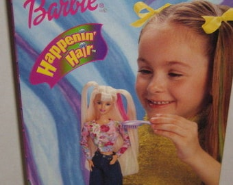 Happening Hair Barbie, 1998, Barbie's Hair changes color when it gets wet, In the original unopened box