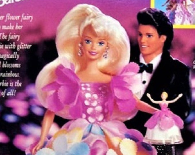 Blossom Beauty Barbie, No. 17032, by Mattel,  1996, In oringinal unopened box, New, With reduced shipping