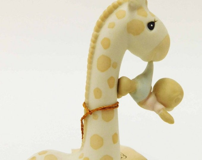 """1989 """"To Be with You is Uplifting"""" Precious Moments Figurine, In Excellent Condition with attached tag, Cute Figurine for any occasion"""