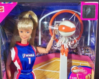 Barbie WNBA Collectable in the original unopened box , with Reduced Shipping