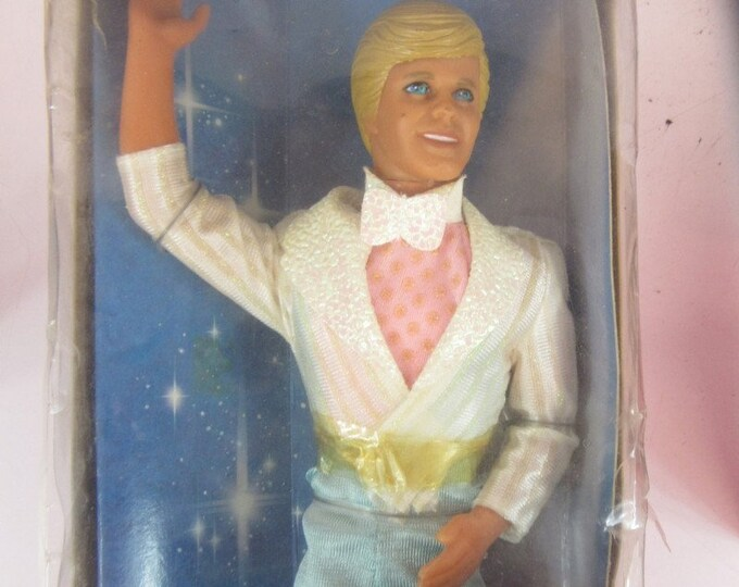 1989 Ice Capades Ken, In the original unopened box, Blonde Ken in his original Skating outfit, Vintage Ken