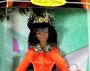 Barbie Tangerine Twist from the Fashion Savvy Collection, 1997, New In the original unopened box, She is a Beautiful Fashion Barbie
