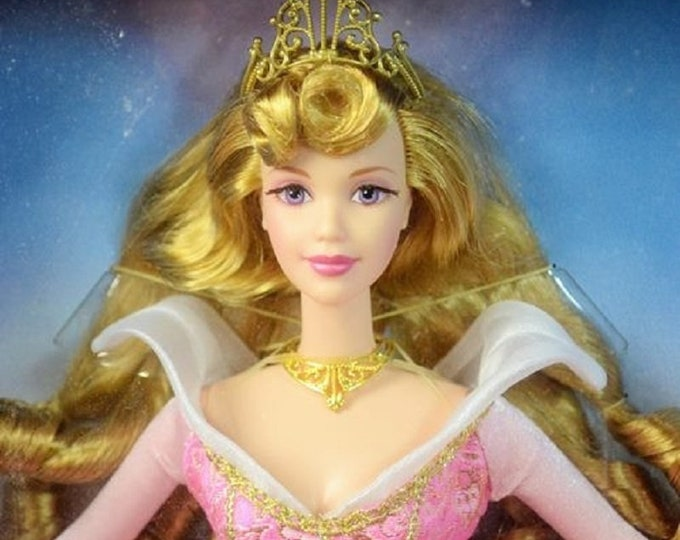 1993 Sleeping Beauty , The Signature Series from Disney,  Collector Edition , in the original unopened box, New Barbie in her Pink Gown