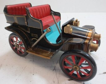 Fathers Day Gift, Toys- 50's Masudaya Car in Great used condition- Vintage Collector Item- Price Reduced and Reduced Shipping