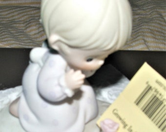 Precious Moments Figurine, 2ND Birthday Figurine , In the original box , Excellent Condition