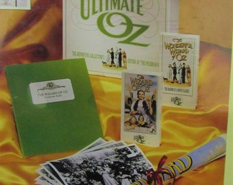 The Wizard of OZ Collector Edition, Vintage Collectable, The Ultimate Wizard Of Oz CE Set by Disney , 1993, In the original unopened package