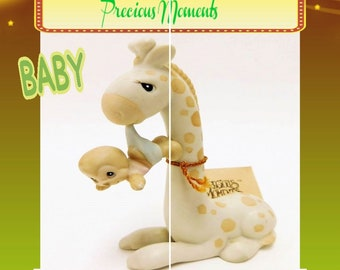"""Baby Gift 1989 """"To Be with You is Uplifting"""" Precious Moments Figurine, In Excellent Condition w tag , Cute Figurine for any occasion"""