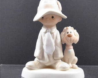 Precious Moments Figurine by Johnathon David -Enescon,  Excellent Condition- Free Shipping