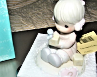 Precious Moments 3rd Birthday Figurine in original box , With Reduced Shipping