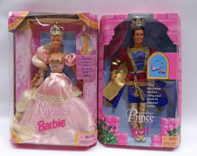 Disney Princess Repunzel & The Prince , 1997, CE, by Mattel  New in the original box, In Excellent Condition, Repunzul is 1n top 18