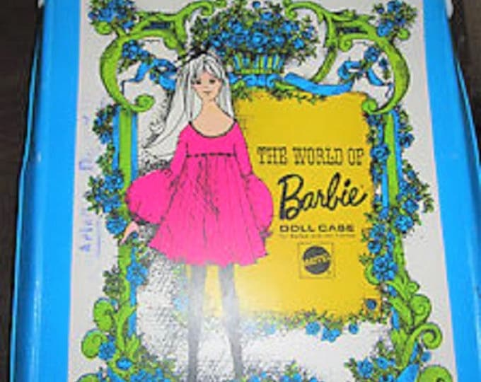 Toys- Barbie The World of Barbie Doll Case No. 1002. 1968. With Reduced shipping.
