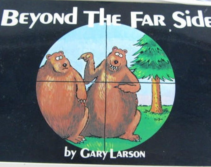 Far Side Collectable Books from the 80's, Set of 3, 2nd, 3rd and 9th Edition, Great Fathers Day Gift, With Reduced Shipping