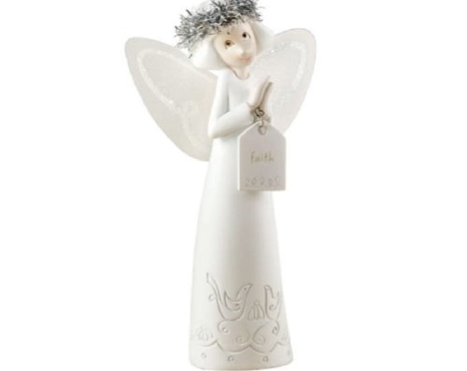 Whispers Collection , Angel of Faith, by Dept 56, New in the original unopened sealed box, With Reduced Shipping